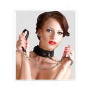 Bad Kitty Silicone Collar and Leash