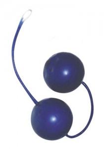 Blue Ecstasy Latex Kegal Balls