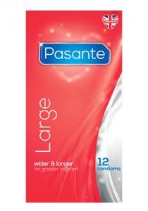 Pasante Large Condoms
