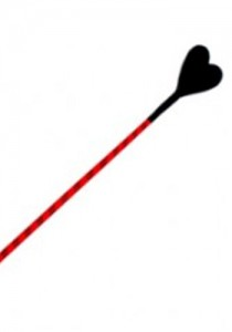 Luxury Red Riding Crop