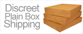 Discreet Packaging Sign